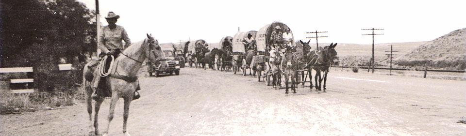 Banner Wagons Ho Frank Clark