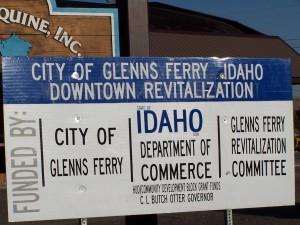 Revitalization Block Grant Sign