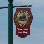 Revitalization Streetlamp Sign